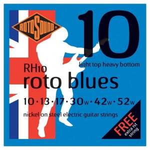 Rotosound RH10 Electric Guitar Strings 10-52