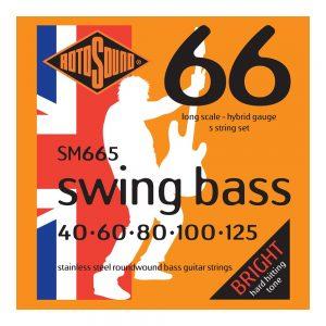 Rotosound SM665 5 String Swing Bass 66