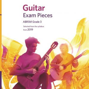 ABRSM Guitar Exam Pieces From 2019 Grade 3 Book/CD