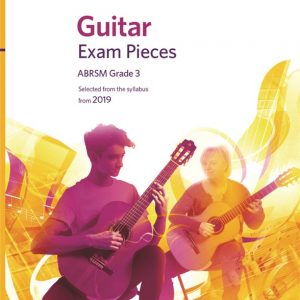 ABRSM Guitar Exam Pieces From 2019 Grade 3 (Book)