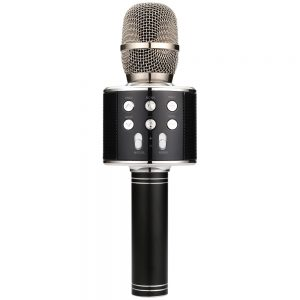 QTX Karaoke Party Microphone / Black