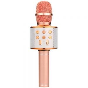QTX Karaoke Party Microphone / Rose Gold