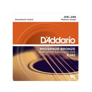 D' Addario EJ42 Set Resophonic Guitar 16-56 Strings