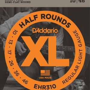 D'Addario EHR310 Half Rounds Regular Light Strings