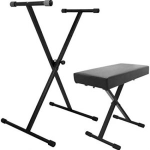 Keyboard Accessories Pack by Trax Stand & Bench