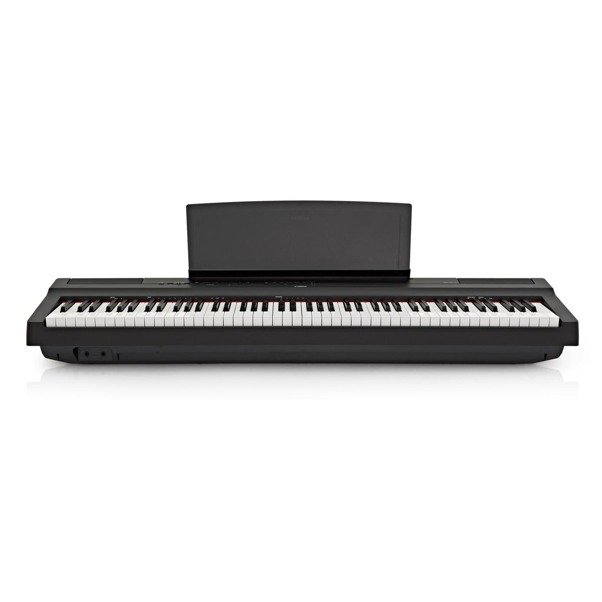 Yamaha P125 Digital Piano Black