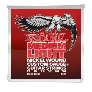 Ernie Ball 2206 Nickel Wound Guitar Strings 12-54