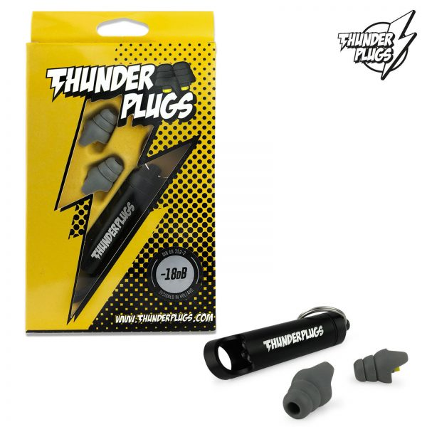 Thunderplugs TPB1 Ear Plugs with Carry Case