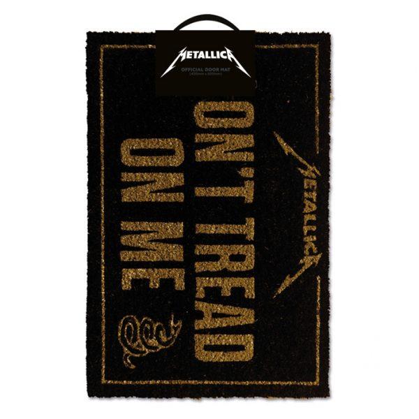 Metallica Doormat - Don't Tread On Me