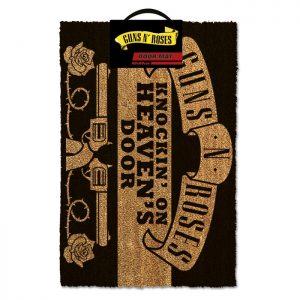 Guns N Roses Doormat - Knockin On Heavens Door
