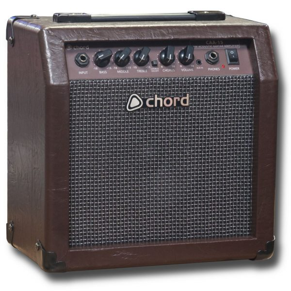 Chord CAA-15 15W Acoustic Guitar Amplifier