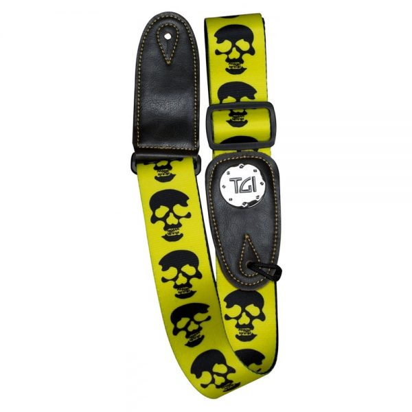 TGI Strap Skull Yellow | TGS20105