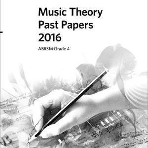Music Theory Past Papers 2016, ABRSM Grade 4