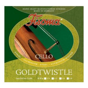 Fisoma Goldtwistle Cello String Set 1/2 Size