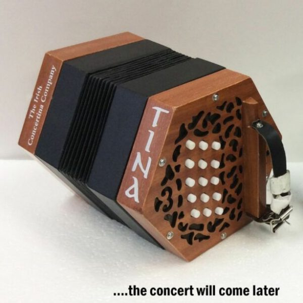 Garvey 'Tina' Concertina C/G Key