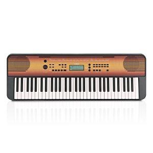 Yamaha PSR E360 Portable Keyboard Maple