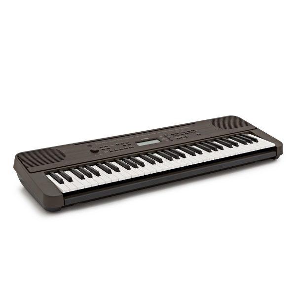 Yamaha PSR E360 Portable Keyboard Dark Walnut