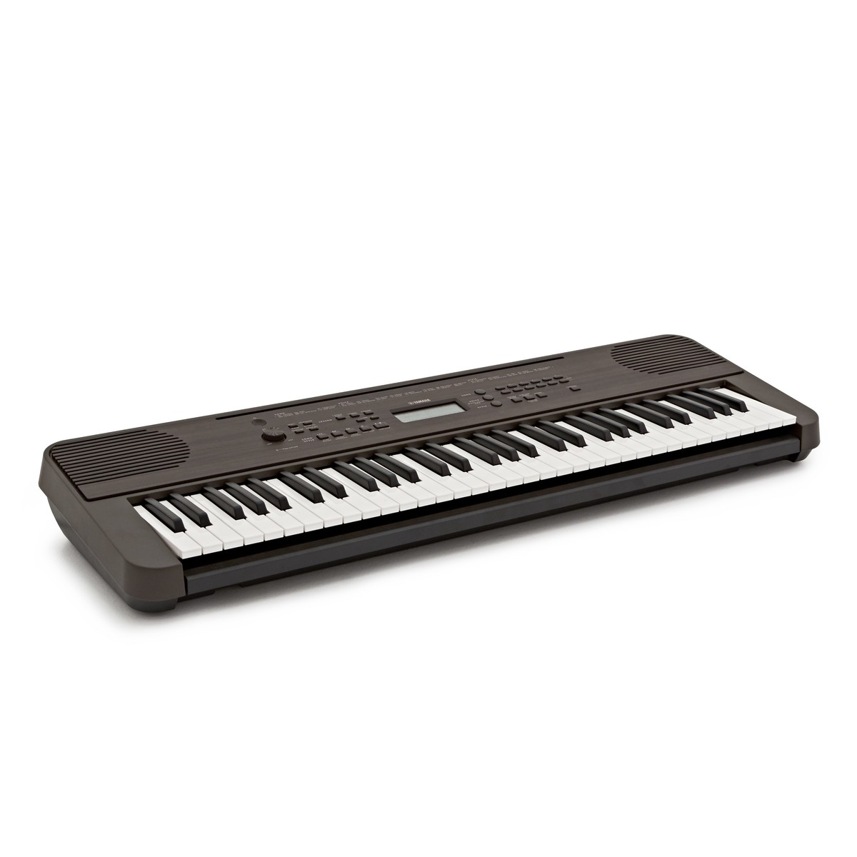 Yamaha PSR E360 Portable Keyboard Dark Walnut