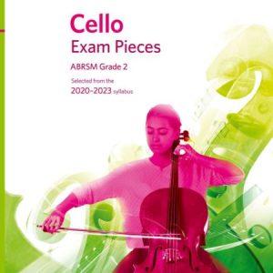 ABRSM Cello Exam Pieces 2020-2023 Grade 2 Score & Part