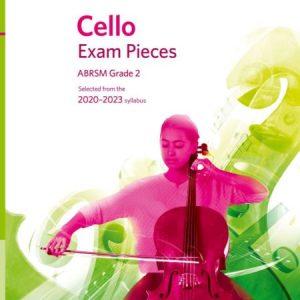 ABRSM Cello Exam Pieces 2020-2023 Grade 2 Part Only