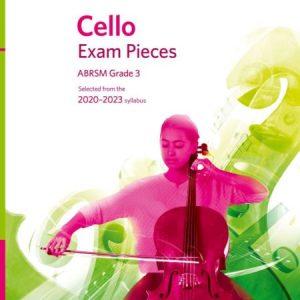 ABRSM Cello Exam Pieces 2020-2023 Grade 3 Score, Part & CD