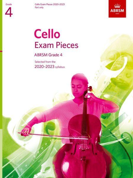 ABRSM Cello Exam Pieces 2020-2023 Grade 4 Part Only