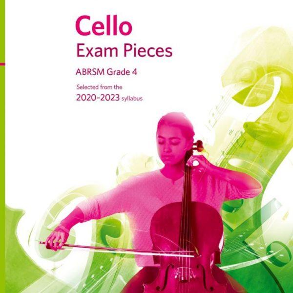 ABRSM Cello Exam Pieces 2020-2023 Grade 4 Score & Part