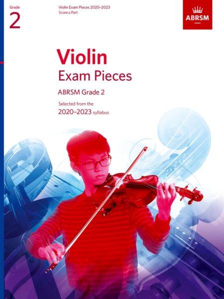 ABRSM Violin Exam Pieces 2020-2023 Grade 2 Score & Part