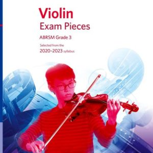 ABRSM Violin Exam Pieces 2020-2023 Grade 3 Part Only