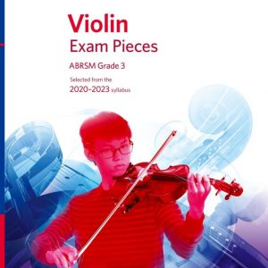 ABRSM Violin Exam Pieces 2020-2023 Grade 3 Score, Part & CD