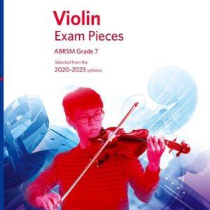 ABRSM Violin Exam Pieces 2020-2023 Grade 7 Score & Part