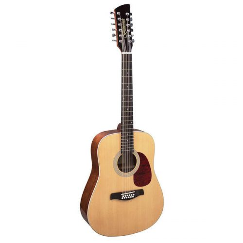 Brunswick BD20012 Dreadnought 12 String Guitar Natural