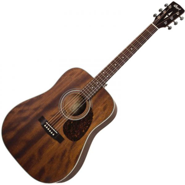 Cort Earth70 MH OP Acoustic Guitar Mahogany