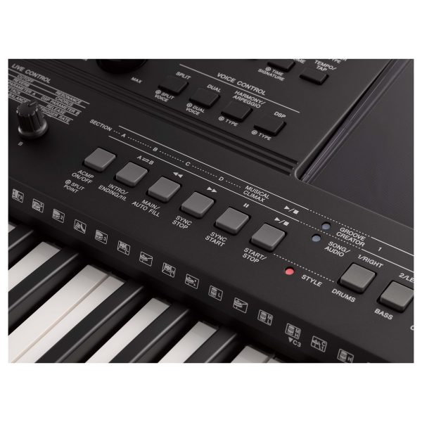 Yamaha PSR E463 Portable Keyboard