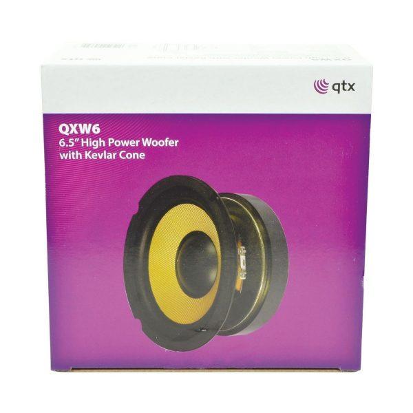 QTX QXW6 6.5'' Woofer with Aramid Fibre Cone