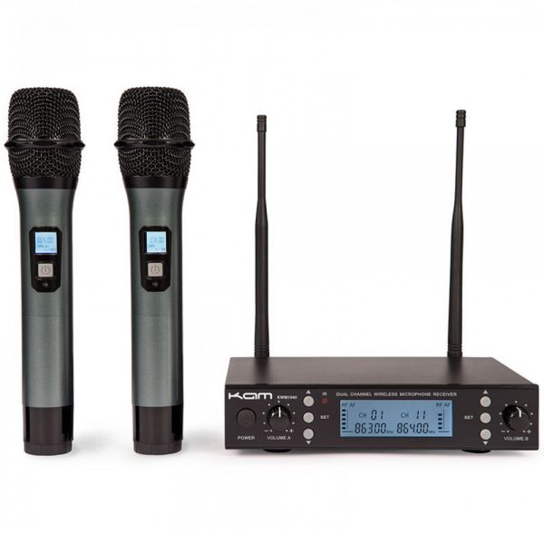 KAM KWM1940 V3 Dual UHF Wireless Mic System