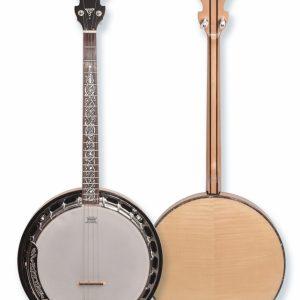 McBrides DX314 Deluxe Tenor Banjo CW Hardcase