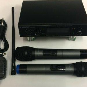 KAM KWM1932 UHF Wireless Microphone System