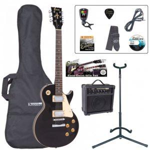 Encore E99 Electric Guitar Pack Gloss Black