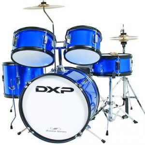 DXP 1046 5 Piece Junior Drum Kit Blue