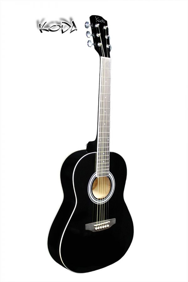Koda 3/4 Size Acoustic Guitar Pack Black