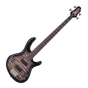 The Cort Action Deluxe Plus Bass Guitar Faded Grey Burst is affordable but loaded with quality materials, components and craftsmanship,