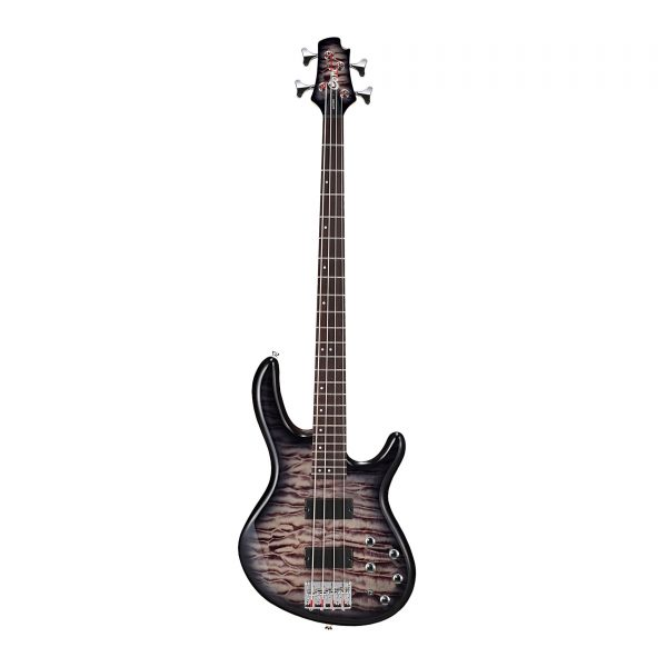 Cort Action Deluxe Plus Bass Guitar Faded Grey Burst