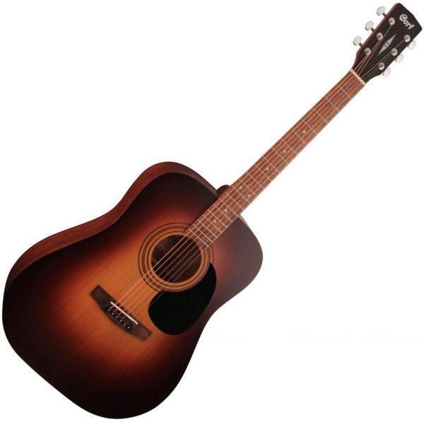 Cort AD810 Standard Series Acoustic Guitar Satin Sunburst