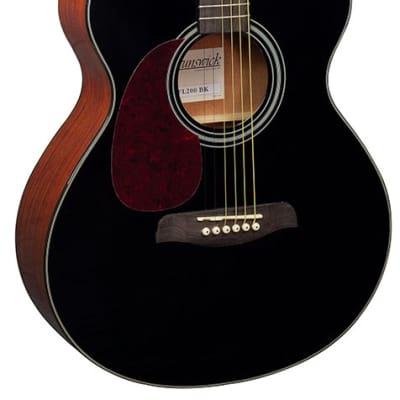 Brunswick BFL200BK Black Guitar