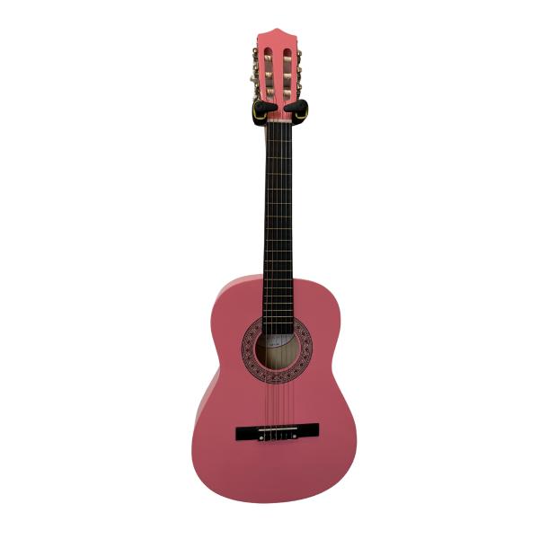 Trax 3/4 Size Classical Guitar Bubblegum Pink