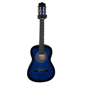 Trax 1/2 Size Junior Classical Guitar Blue Burst