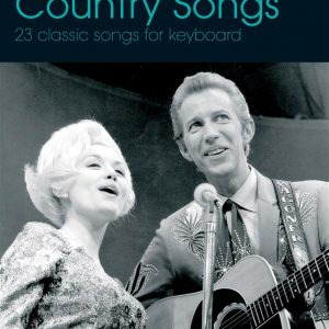 Easy Keyboard Library Country Songs