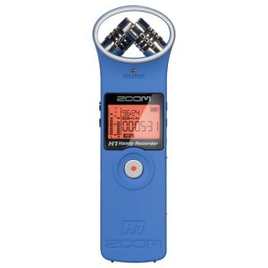 Zoom H1 Handy Recorder Blue