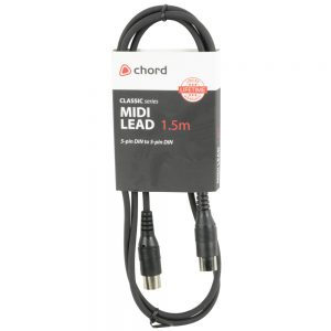 Chord Classic Midi Lead 1.5 Metre